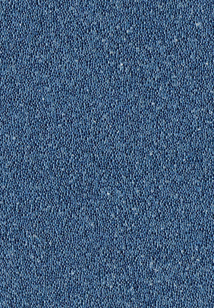 Glambeads Solid Blue Glass Bead Wallpaper - Designer Wallcoverings and Fabrics