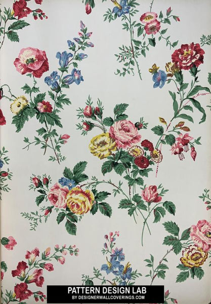Vintage Wallpapers by Designer Wallcoverings