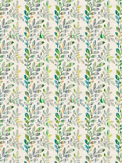 TUILERIES - VERDURE - NICOLETTE MAYER WALLPAPER - WNM0003RIES at Designer Wallcoverings and Fabrics, Your online resource since 2007