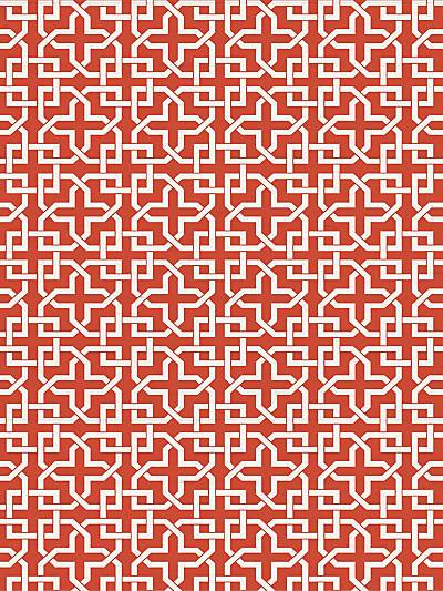 INFINITY - MON RED - NICOLETTE MAYER WALLPAPER - WNM0005INFI at Designer Wallcoverings and Fabrics, Your online resource since 2007