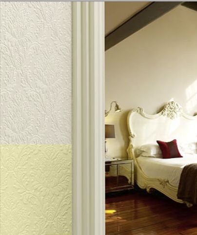 Sophia Paintable Embossed Walls