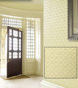 Bella Byzantine Paintable Embossed Walls