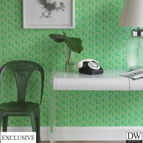 Tennis Toupe Wallpaper (Room Setting)