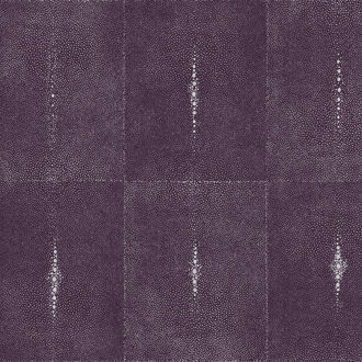 Glambeads - Shagreen Glass Bead Wallpaper -- Purple