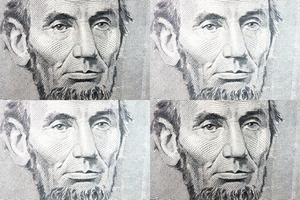 Lincoln, Lincoln on the Wall - Black and White