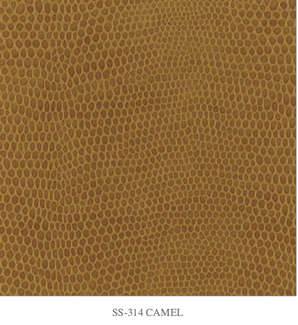 Cobra������ - Faux Snake Leather - Camel