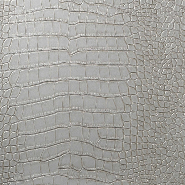 Le Embossed Croc - Silver