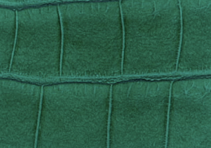 Crocodile Faux Leather - Jungle