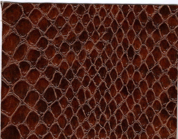 Anaconda Snake - Faux Leather Glossy Vinyl