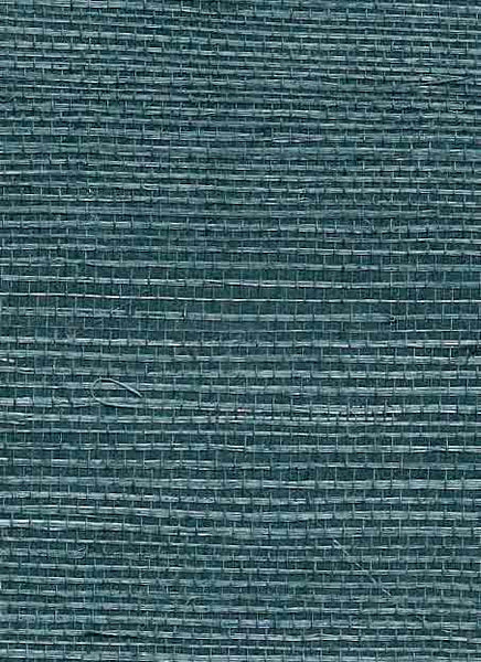 Grasscloth- TightWiki- AB327 Deep Wedgewood Blue