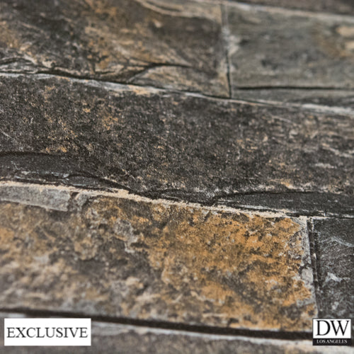 Vomera Midnight Travertine Faux Tile