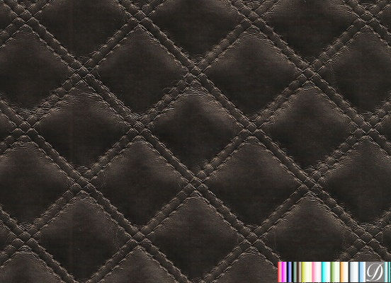New London Quilted Uphostery Vinyl