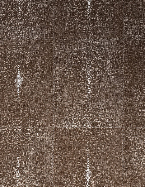 Glambeads - Shagreen Glass Bead Wallpaper -- Brown Java