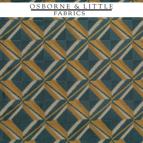 Osborne & Little Fabrics #F7422-026 at Designer Wallcoverings - Your online resource since 2007