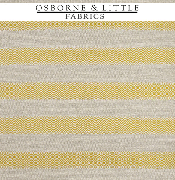 Osborne & Little Fabrics #F7445-02 at Designer Wallcoverings - Your online resource since 2007