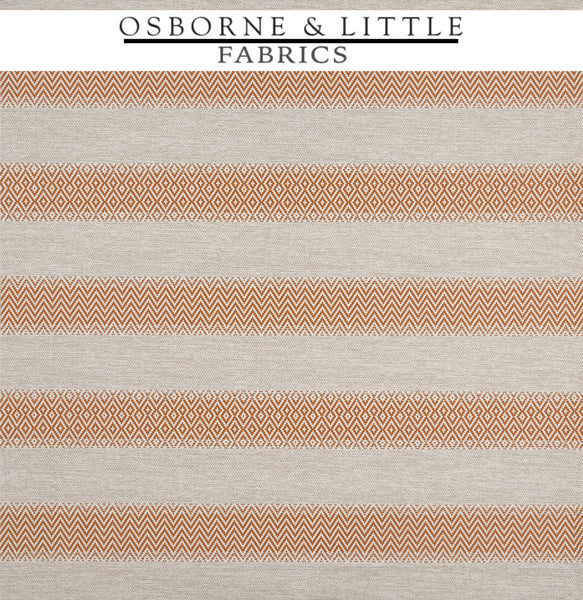 Osborne & Little Fabrics #F7445-04 at Designer Wallcoverings - Your online resource since 2007