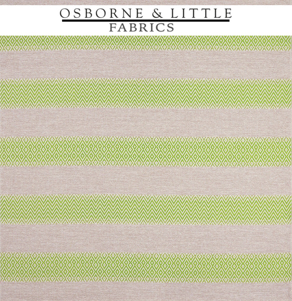 Osborne & Little Fabrics #F7445-05 at Designer Wallcoverings - Your online resource since 2007