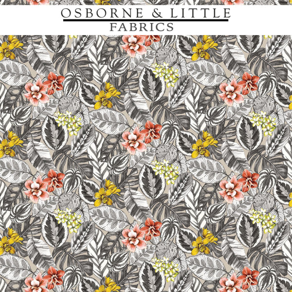 Osborne & Little Fabrics #F7447-01 at Designer Wallcoverings - Your online resource since 2007