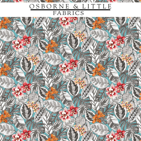 Osborne & Little Fabrics #F7447-02 at Designer Wallcoverings - Your online resource since 2007