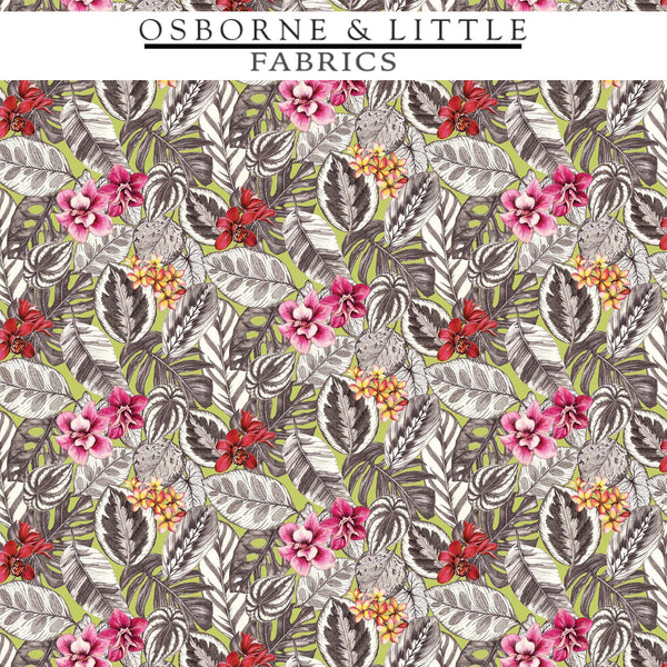 Osborne & Little Fabrics #F7447-03 at Designer Wallcoverings - Your online resource since 2007