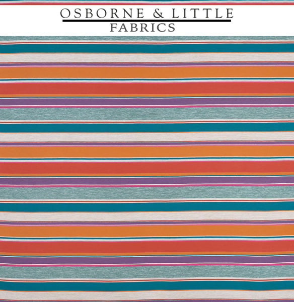 Osborne & Little Fabrics #F7448-03 at Designer Wallcoverings - Your online resource since 2007