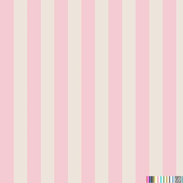 Beverly Hills Stripe Wallpaper - Rexford - Pattern Design Lab