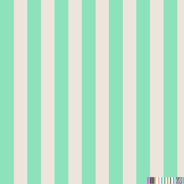 Beverly Hills Stripe Wallpaper - Beverly - Pattern Design Lab
