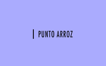 Palillo #13: Punto arroz