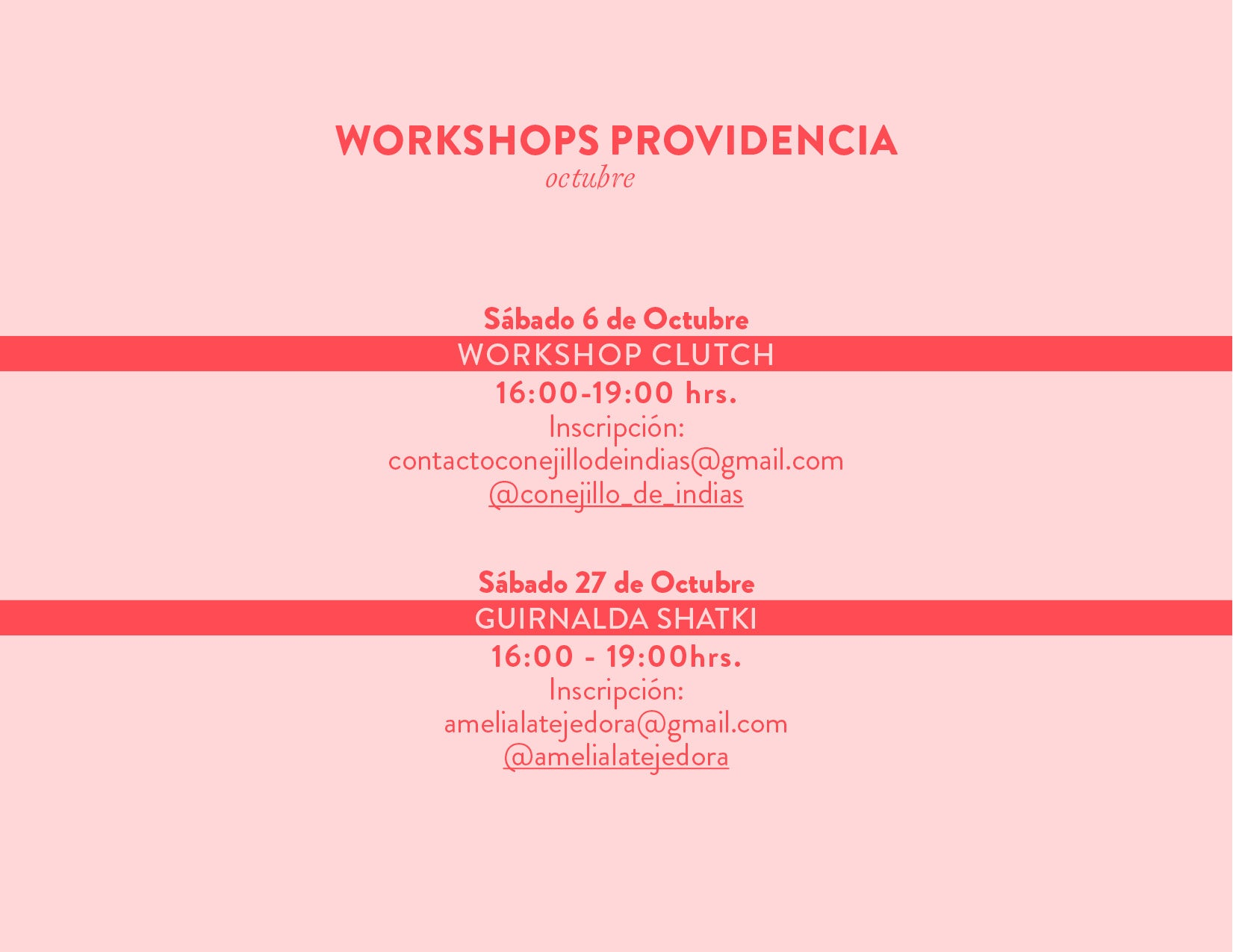 workshop providencia