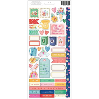 AC STICKERS SHE'S MAGIC 81 PCS 354819
