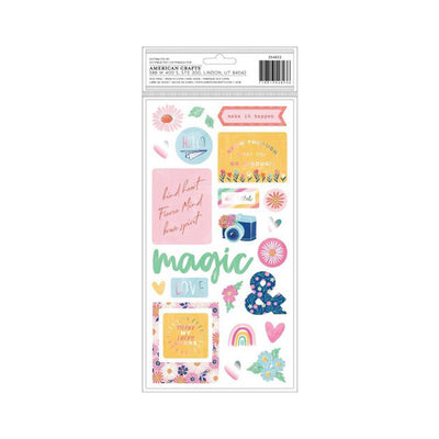 AC STICKERS SHE'S MAGIC 44 PCS 354823