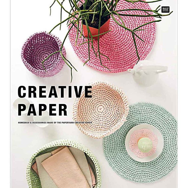 Papel Creativo Crochet Rico