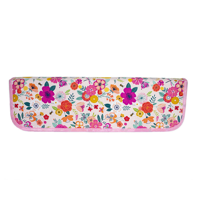 Estuche Crochet Rosa Floreado Sew Easy