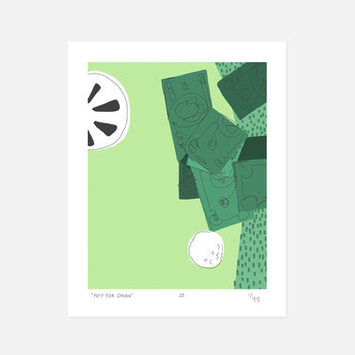 """Putt For Dough"" Print"
