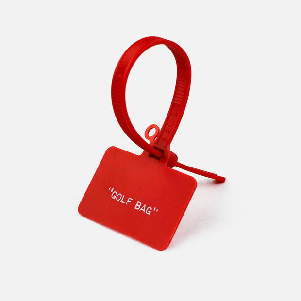 """Golf Bag"" Bag Tag"