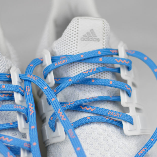 Wavy Shoelaces (Blue)