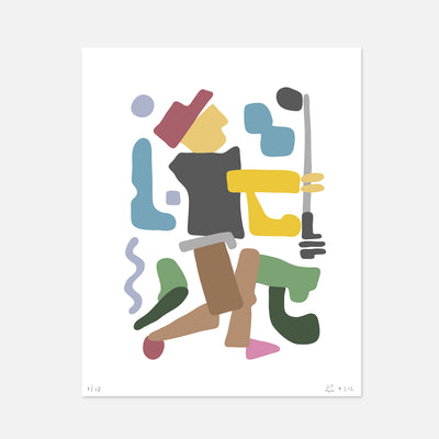 Swing Your Swing 2 Print