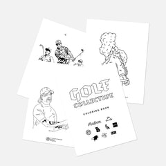 FREE Golf Collective Coloring Book (Download)