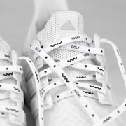 Wavy Shoelaces (White)