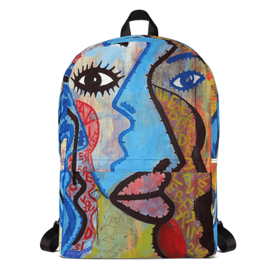 EnoughSaid Graffiti Art Backpack