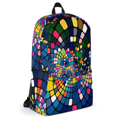 EnoughSaid Psychedelic Design Backpack