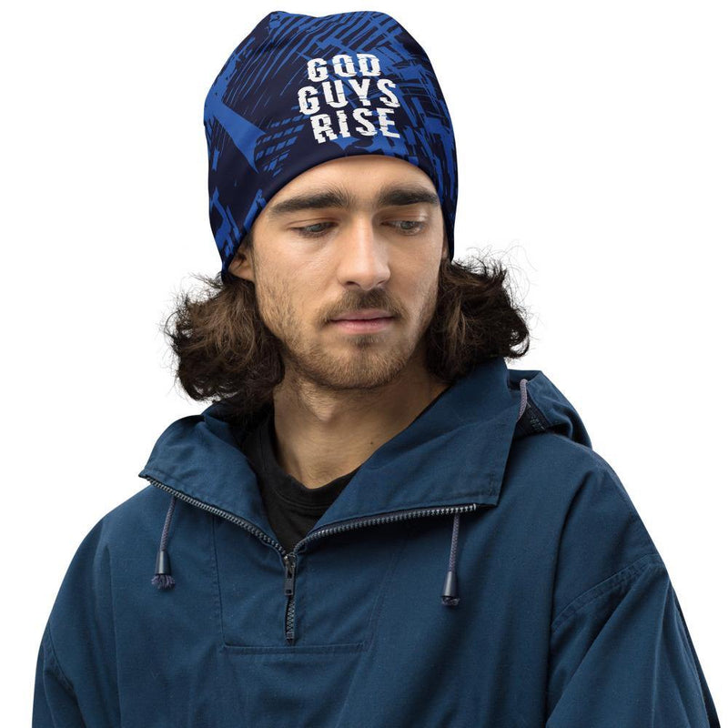God Guys Rise All-Over Print Beanie - front view