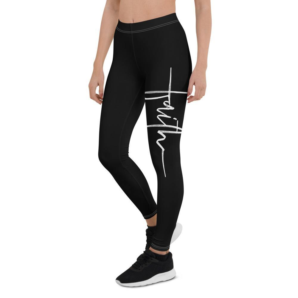 Faith Capri Yoga Leggings Pants for Women - profile view