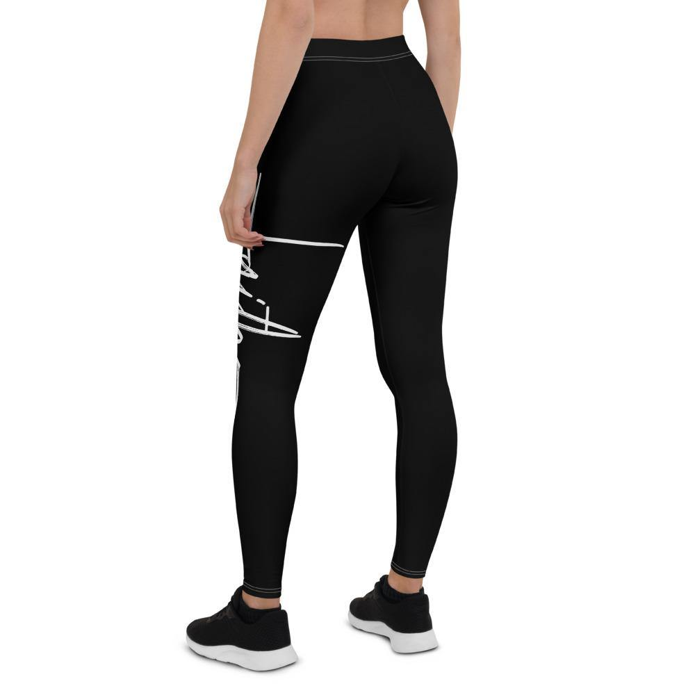 Faith Capri Yoga Leggings Pants for Women - back view