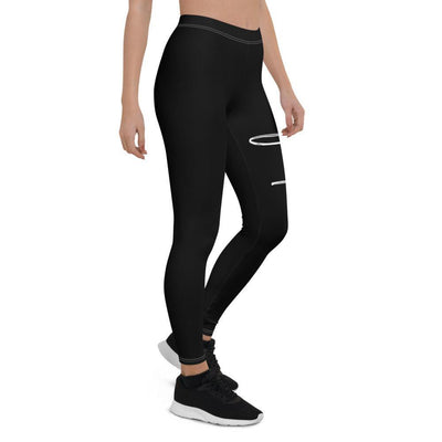 Faith Capri Yoga Leggings Pants for Women - right profile view