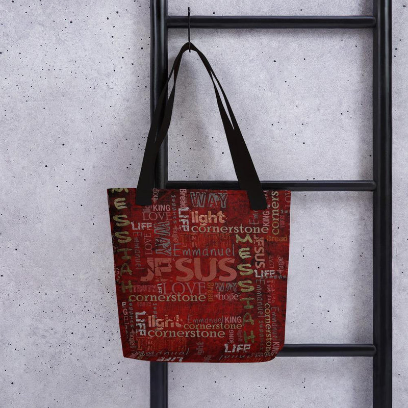 The Truth the Light the Way Jesus Tote Bag - EnoughSaid