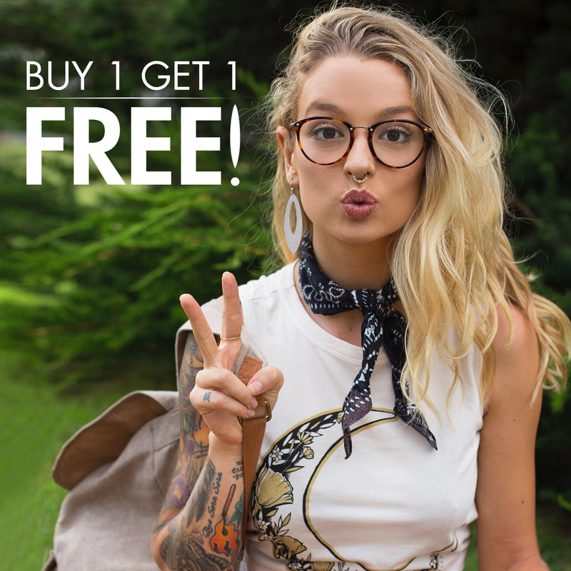 Time for another Buy One Get One Free Earring Sale!