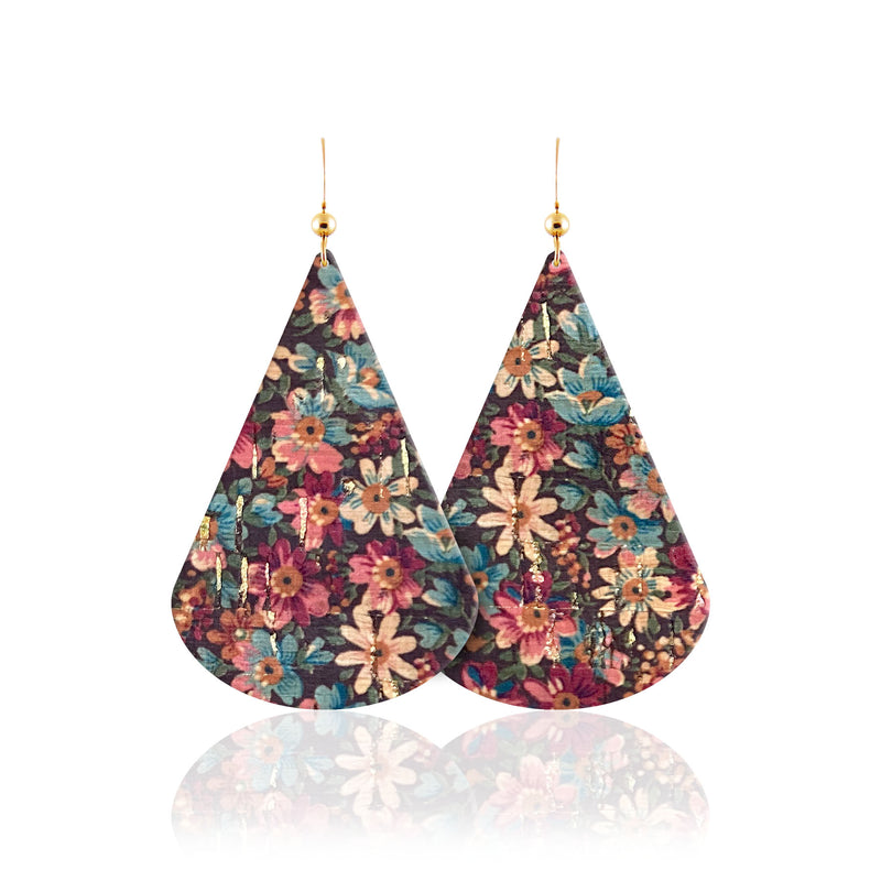 Holly Belle Leather Earrings
