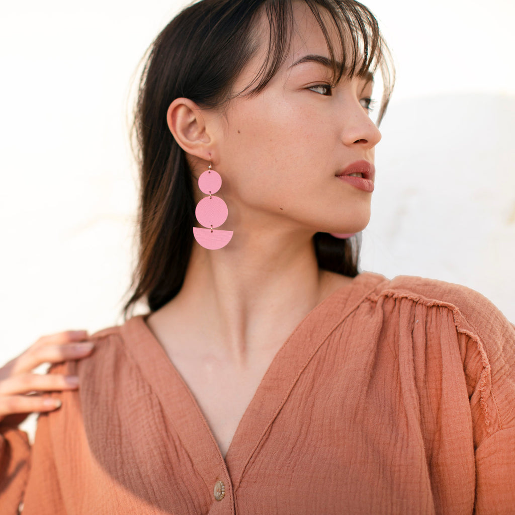 Sustainable Mod Earrings