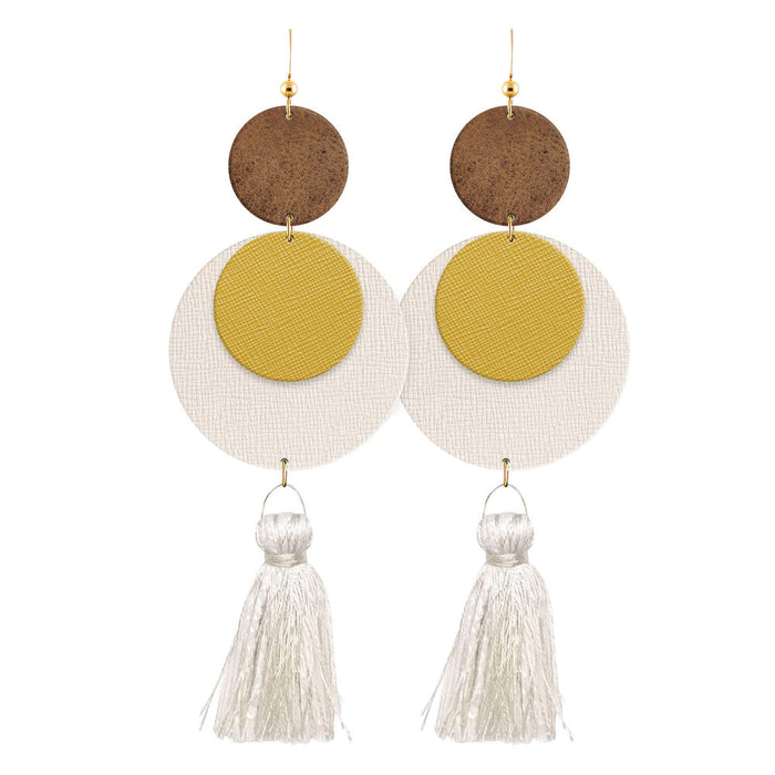 Sundance Laguna Leather Earrings